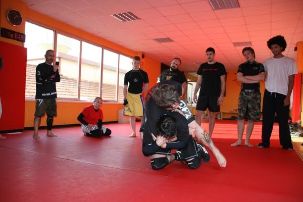 Report seminario catch wrestling con Mike Raho 1