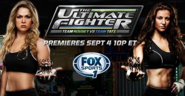 TUF 18: Ronda Rousey vs Miesha Tate Ep 01 1