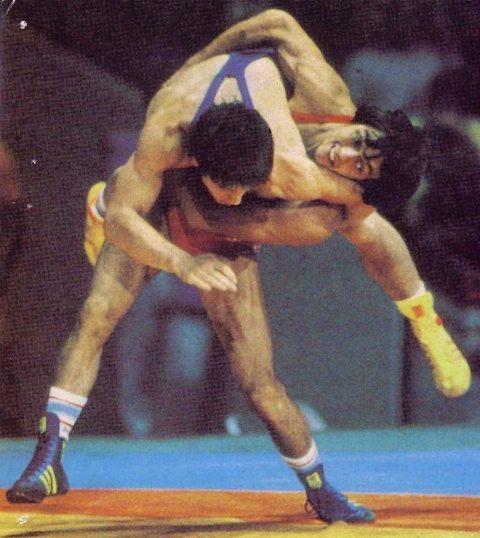 Stage di lotta Greco-Romana con Vincenzo Maenza 1