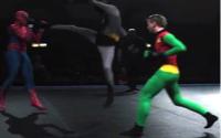 Batman & Robin Vs Spiderman 3