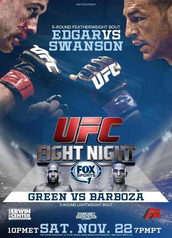 UFC-FightNight-57-Edgar-vs-Swanson