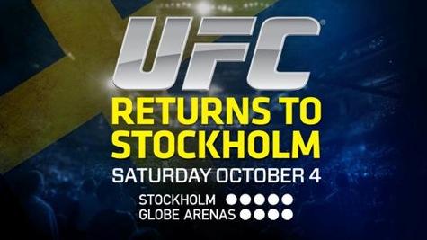 UFC Fight Night 53: UFC Sweden