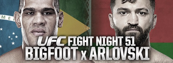 Risultati UFC Fight Night 51: Bigfoot vs. Arlovski 2