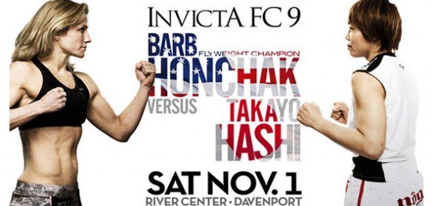 INVICTA FC 9: Honchak VS Hashi 1