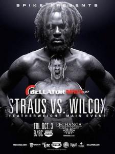 Risultati Bellator 127: Wilcox vs. Straus 1