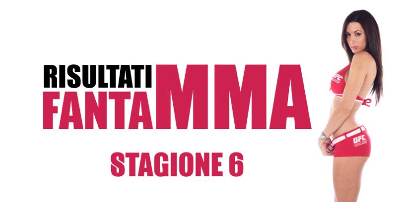 Risultati FantaMMA Season 6