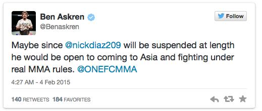 Nick Diaz - Anderson Silva anti-doping Tweets02