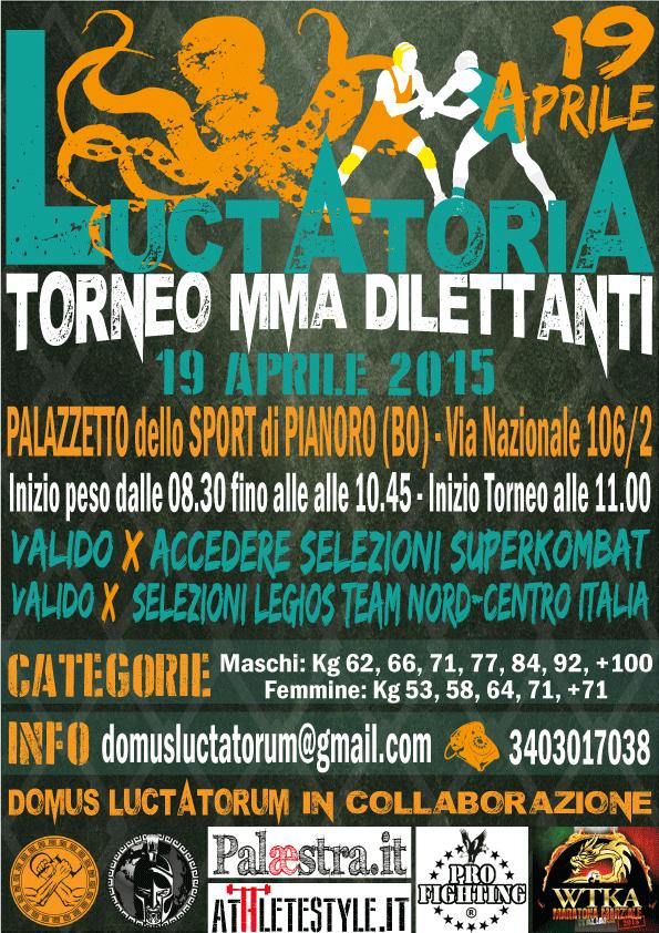 Torneo MMA dilettanti