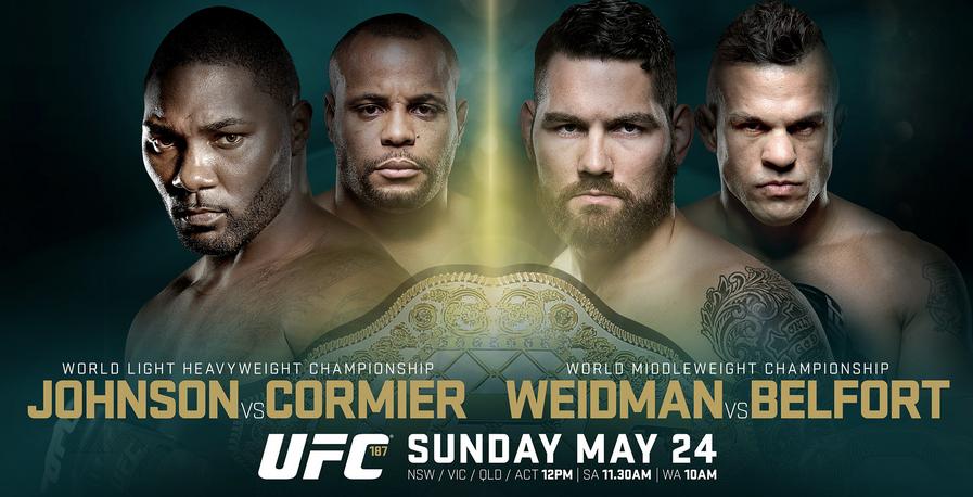 Risultati UFC 187 Johnson vs. Cormier