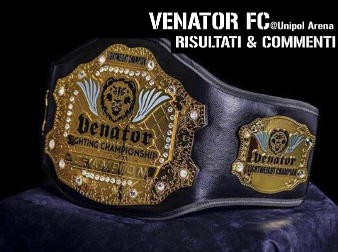 Risultati Venator FC Unipol Arena - 30 maggio