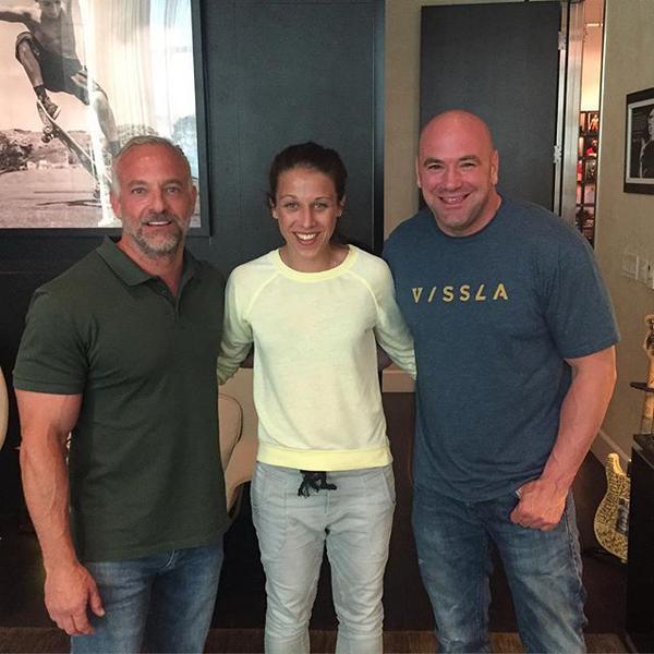 I lottatori della UFC sono fan di Joanna Jedrzejczyk 1