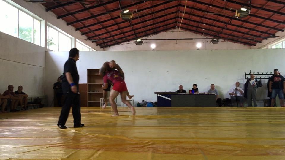 Report 1 Campionato Mondiale di Combat Wrestling