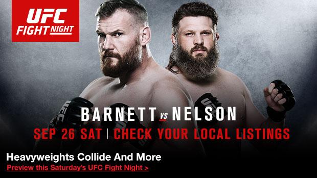 Risultati UFC Japan 2015: Barnett vs Nelson 1