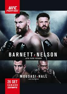 Poster piccolo dell UFC Japan Barnett vs Nelson
