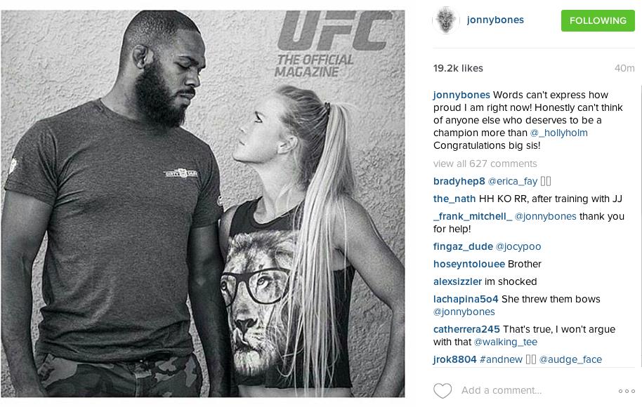 Risultati UFC 193 Rousey vs Holm twitter 3