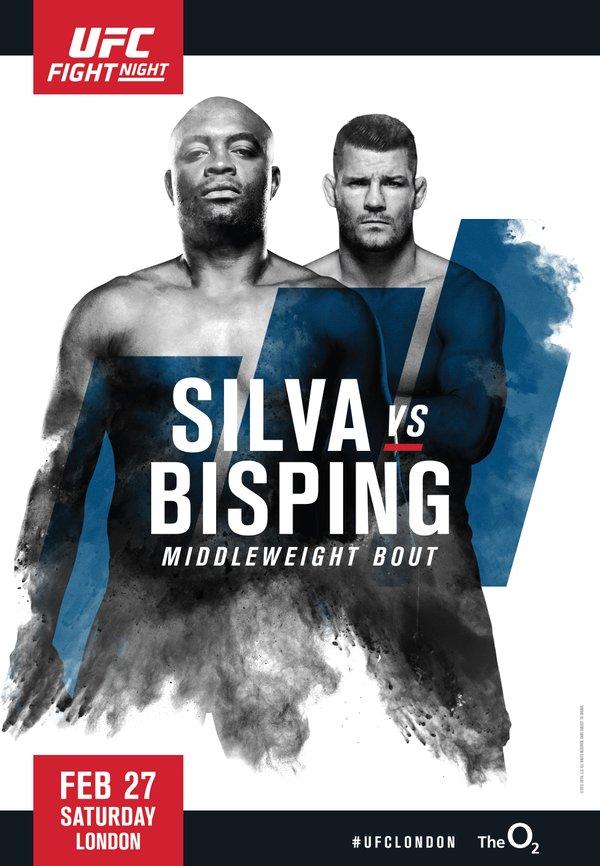 Risultati UFC London 2016: Silva vs Bisping 1