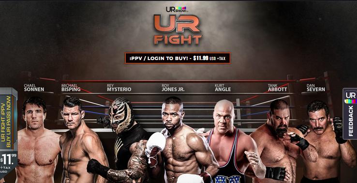 UR Fight 1: la madre di tutti i freak show in PPV il 20 Marzo 1