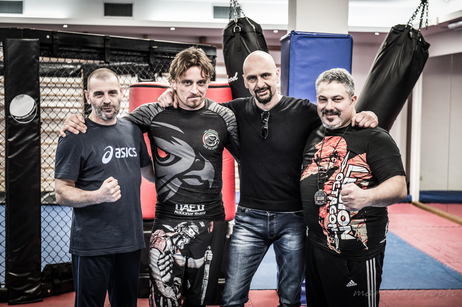 gruppo dei tecnici: Paolo Pillot, Giuliano Pavan, GB Boer e Gianpaolo Puggioni