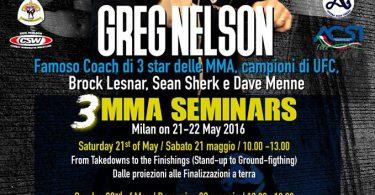 Venator + Greg Nelson Seminar = MMA Weekend 9