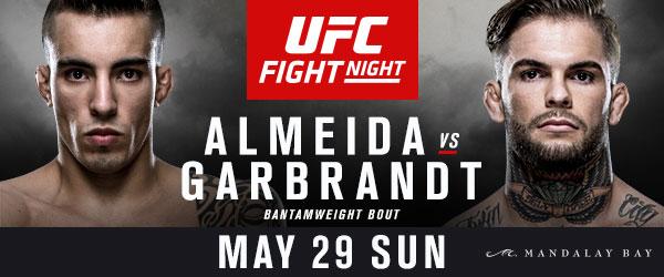 Risultati UFC Fight Night: Almeida vs. Garbrandt 1