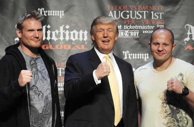 Donald Trump vuole Dana White 1