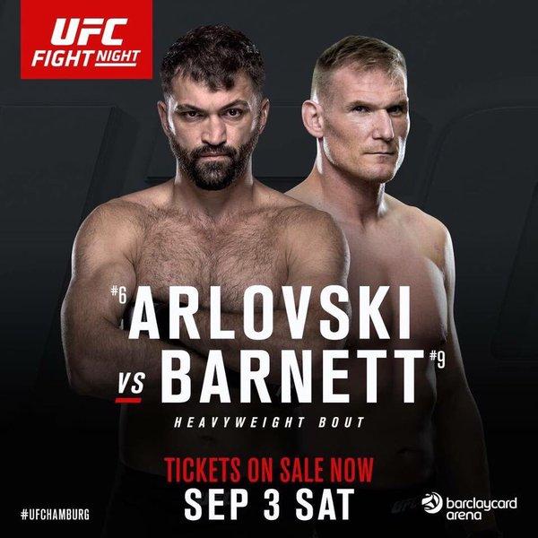 UFC Amburgo: Barnett vs Arlovski 1