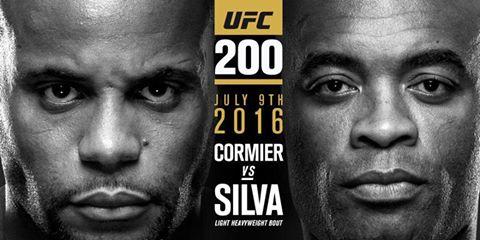 UFC 200 Cormier vs SIlva
