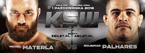 Main-event di KSW 36: Michal Materla vs Rousimar Palhares 1