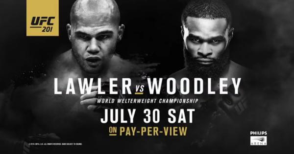Risultati UFC 201: Lawler vs. Woodley (Update) 1