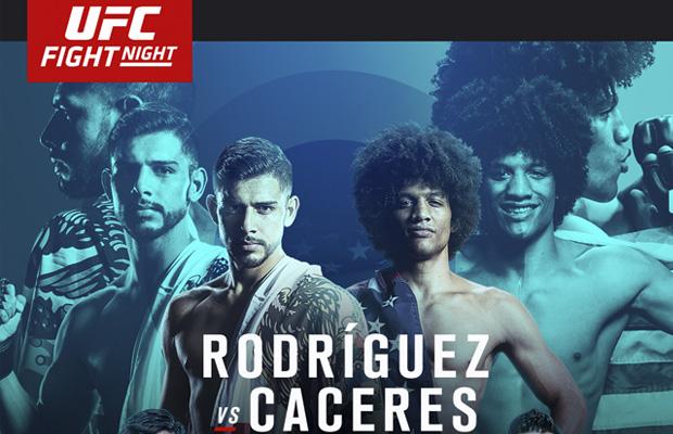 Risultati UFC Fight Night: Rodríguez vs. Caceres 1