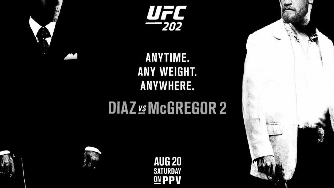 risulati UFC 202 - mcgregor diaz vettori