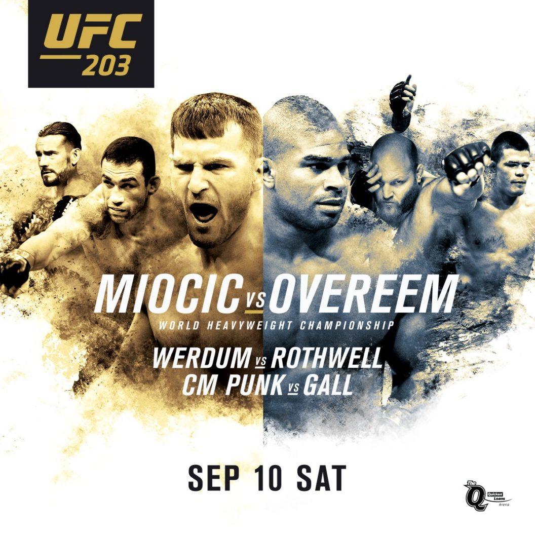 Risultati UFC 203: Miocic vs Overeem (update con Paghe) 1