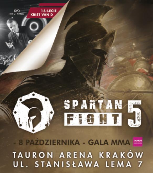 Spartan Fight 5: tutti i risultati degli incontri 1