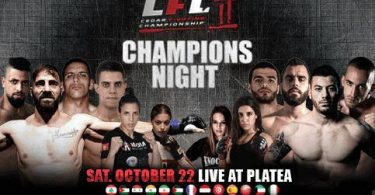 CFC II: Marian Iovita vs Mark Tanios e Giovanni Melillo vs Georges Eid 8