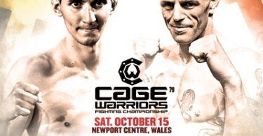 I risultati di Cage Warriors 79 2