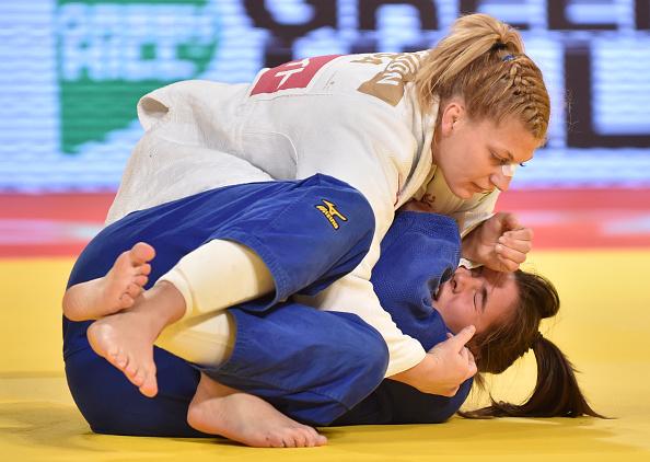 Ronda spostati, la due volte oro olimpico di judo Kayla Harrison firma per la WSOF 1