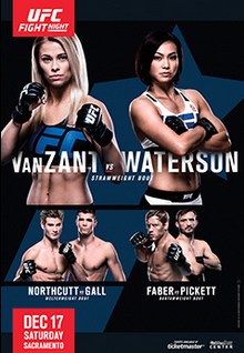 UFC on Fox: VanZant vs. Waterson 1