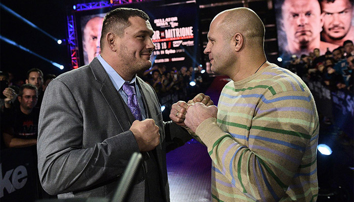 Bellator 172: Fedor vs Mitrione 1