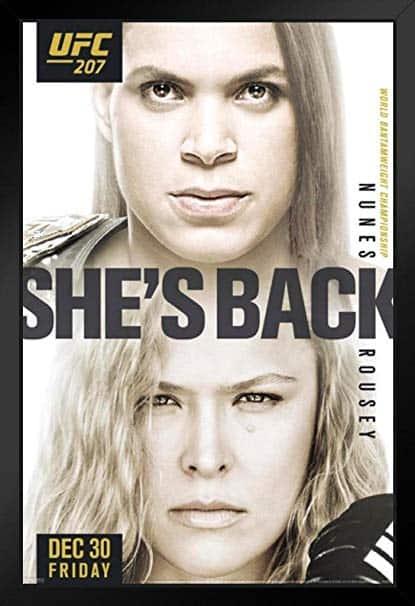 UFC 207: Nunes vs. Rousey 1
