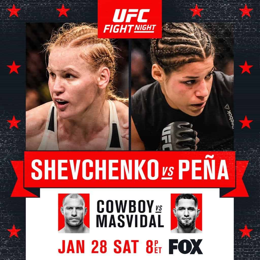 UFC on Fox: Shevchenko vs. Peña 1