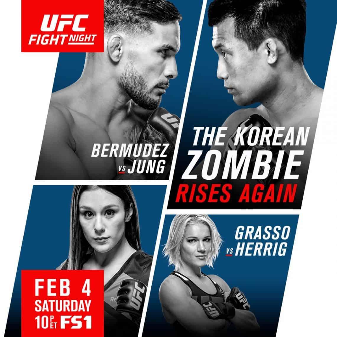UFC Fight Night: Bermudez vs. Korean Zombie 1