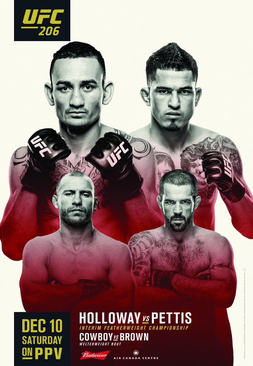 Risultati UFC 206: Pettis vs Holloway 1