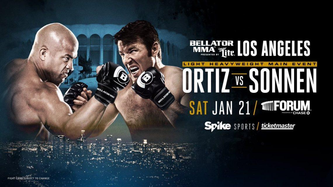Bellator 170: Sonnen vs Ortiz 1