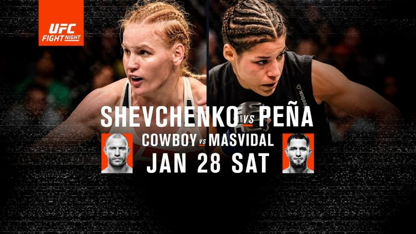 UFC Fight Night Denver- Shevchenko vs Pena