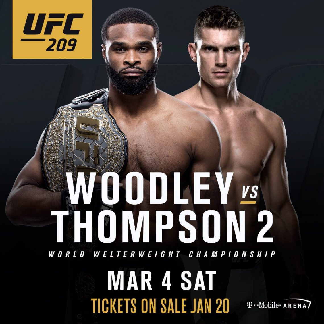 Risultati UFC 209: Woodley vs. Thompson 2 1