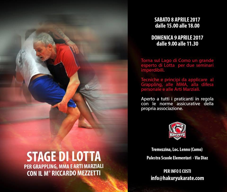 Seminario di Lotta per le MMA / Grappling col Maestro Mezzetti (Lecco) 1