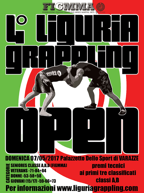 4 Liguria Grappling Open – Torneo NoGi (FigMMA rules) 1