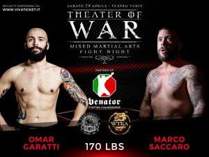 """""""Theater of War"""": risultati alla cerimonia del peso 10"""