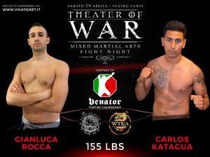 """""""Theater of War"""": risultati alla cerimonia del peso 12"""
