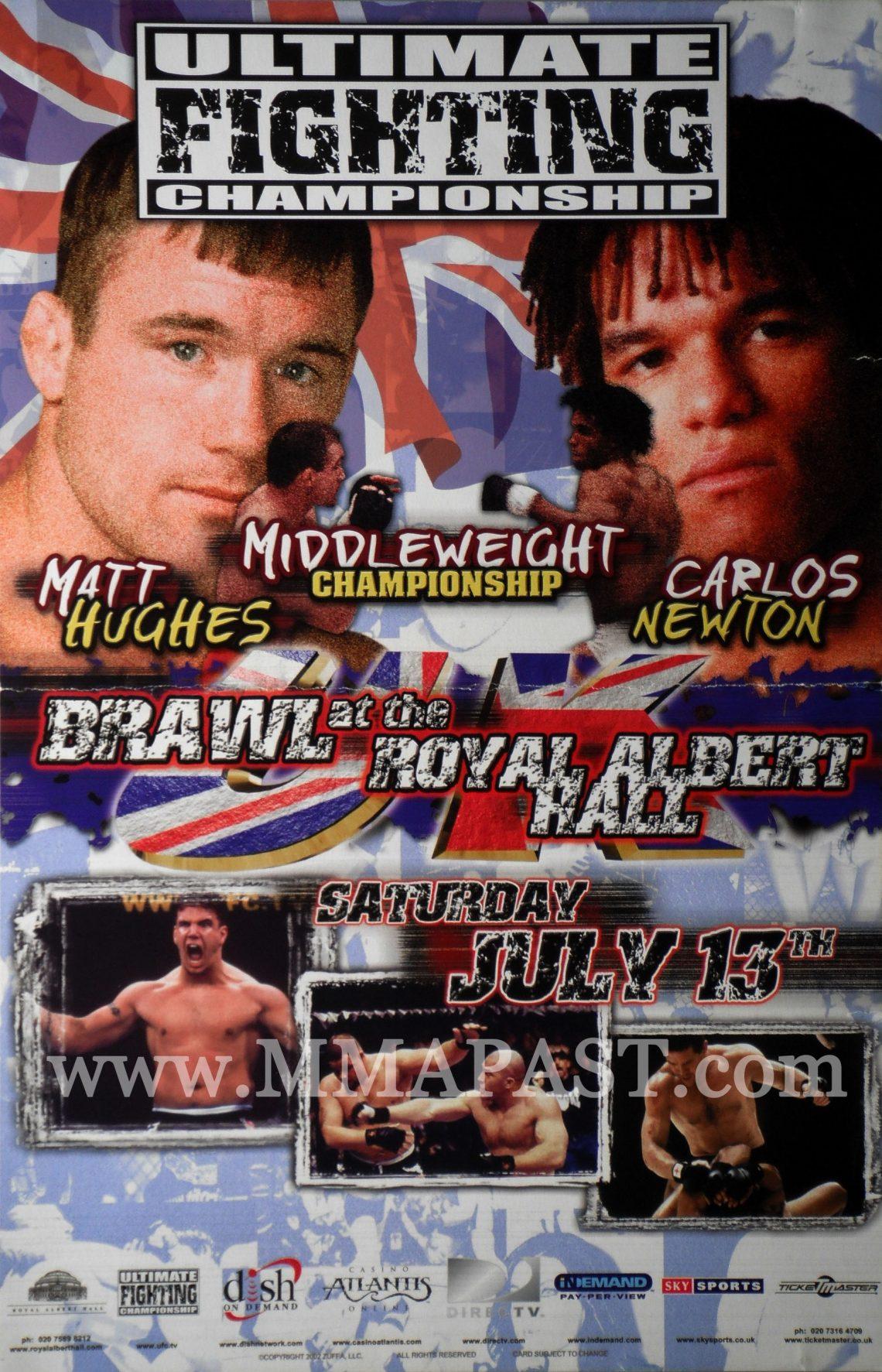 UFC 38: Brawl at the Hall 1